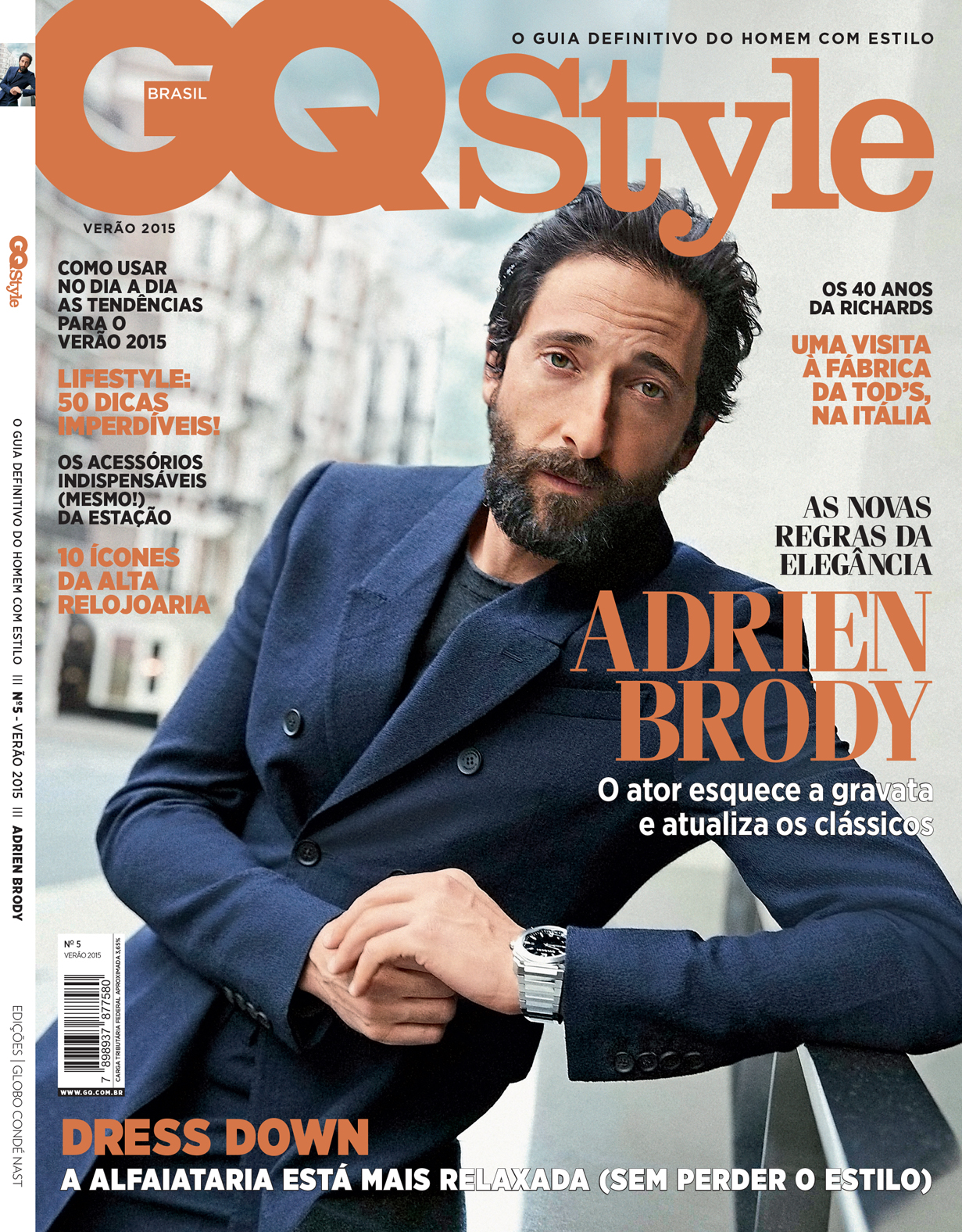 GQ Style brazil - Larry King Hair