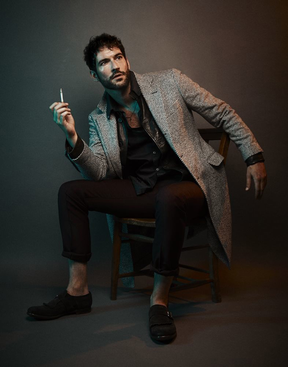 Interview Magazine - Tom Ellis - Larry King