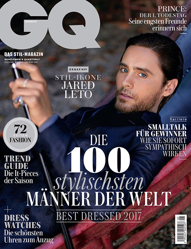 GQ GERMANY - Larry King Hair