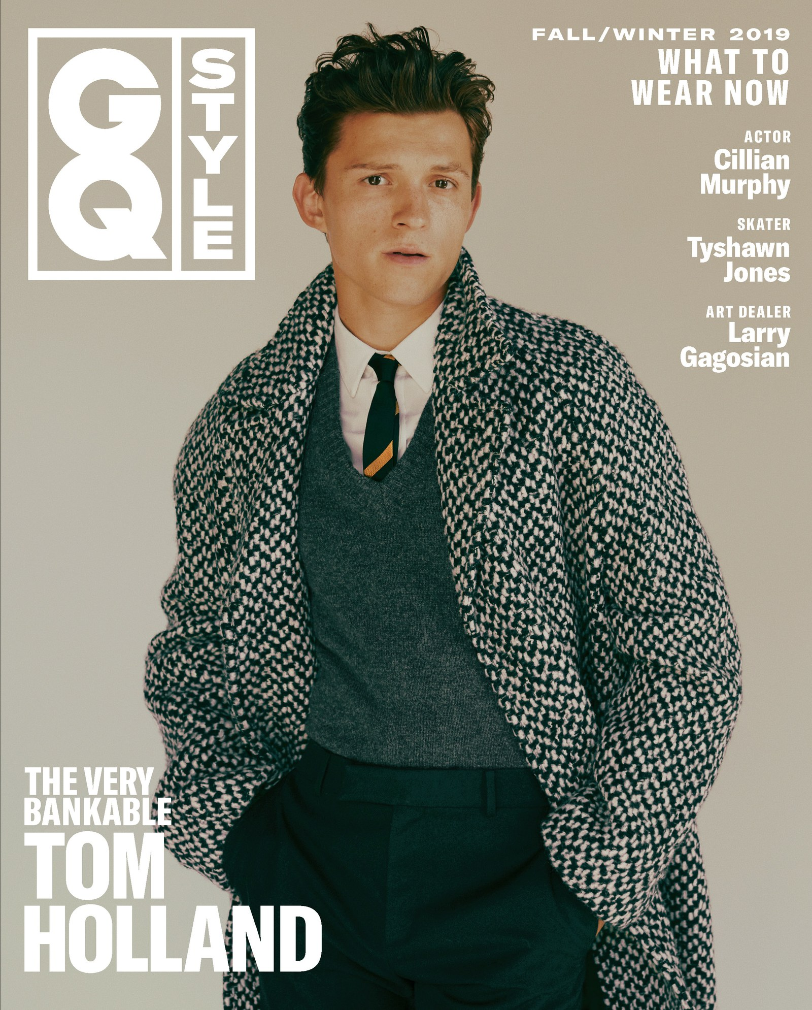 Tom Holland for American GQ